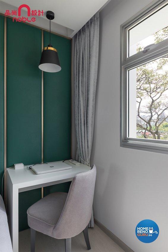 Contemporary, Modern Design - Bedroom - HDB 5 Room - Design by Noble Interior Design Pte Ltd