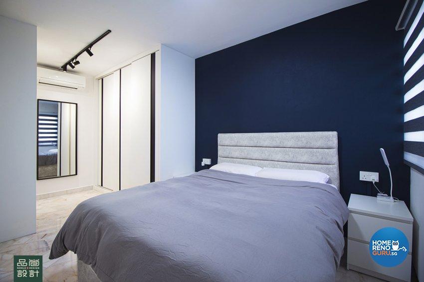 Modern Design - Bedroom - HDB 3 Room - Design by Noble Interior Design Pte Ltd