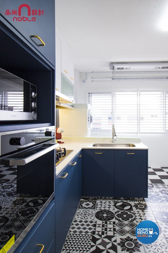 Eclectic, Others Design - Kitchen - HDB 5 Room - Design by Noble Interior Design Pte Ltd