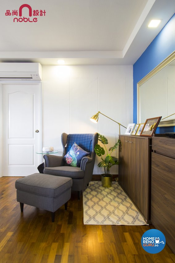 Eclectic, Others Design - Living Room - HDB 5 Room - Design by Noble Interior Design Pte Ltd