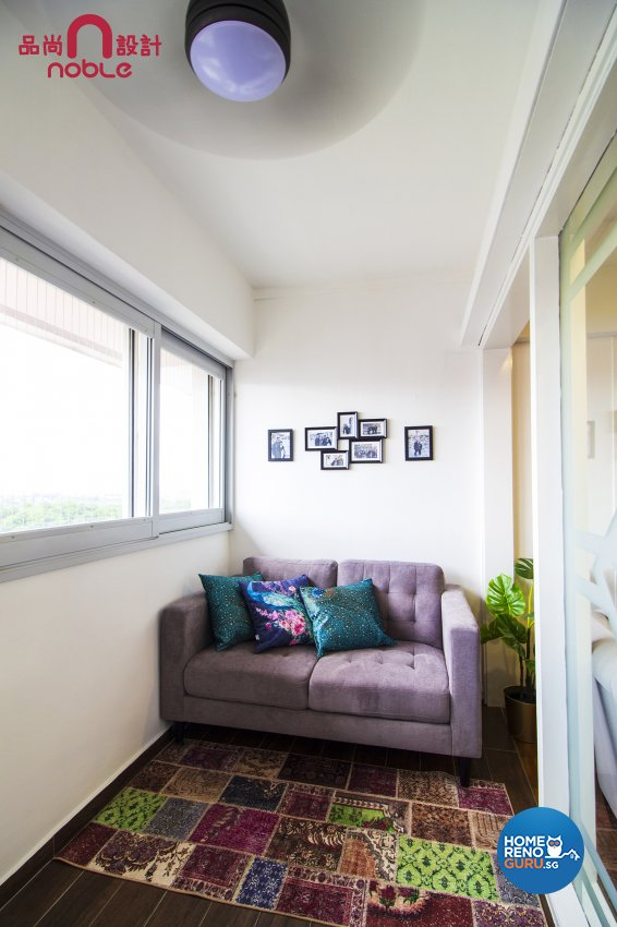 Eclectic, Others Design - Balcony - HDB 5 Room - Design by Noble Interior Design Pte Ltd