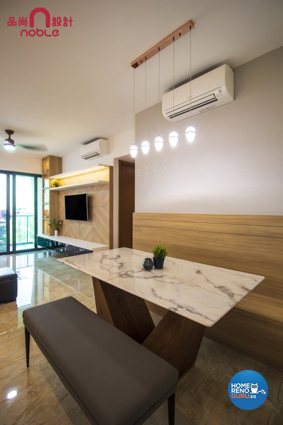 Modern Design -  - Condominium - Design by Noble Interior Design Pte Ltd