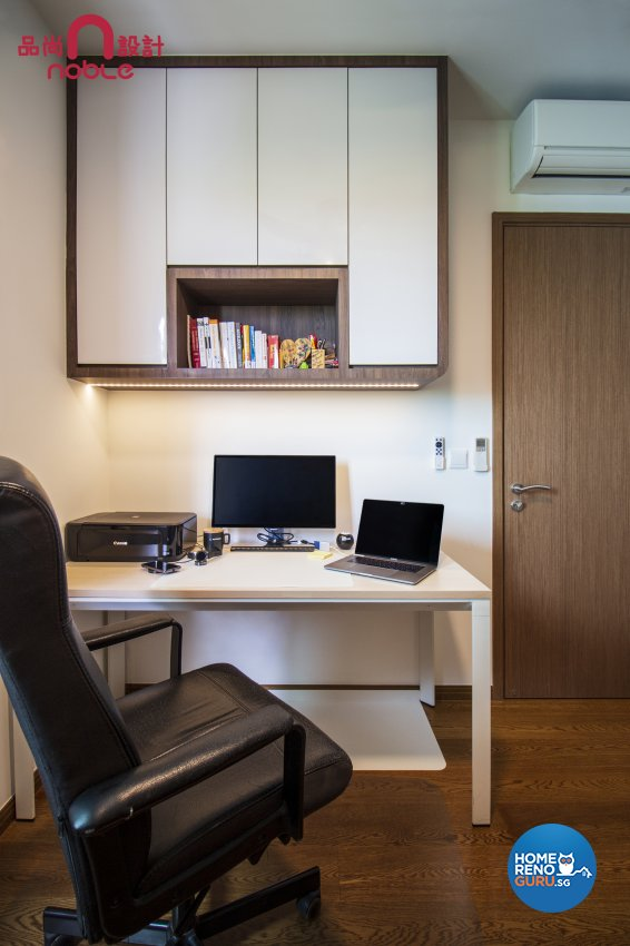 Modern Design - Study Room - Condominium - Design by Noble Interior Design Pte Ltd