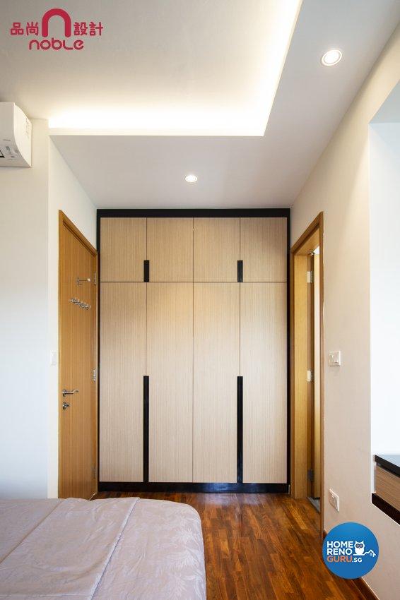 Modern, Scandinavian Design - Bedroom - Condominium - Design by Noble Interior Design Pte Ltd