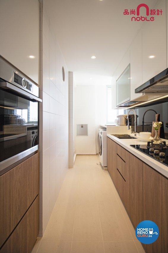 Modern, Scandinavian Design - Kitchen - Condominium - Design by Noble Interior Design Pte Ltd