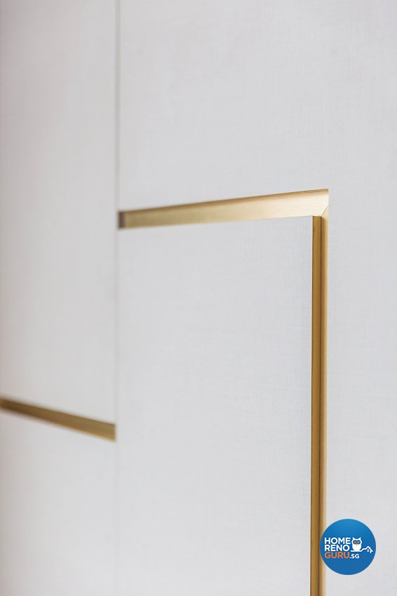 Oriental Design - Bedroom - Landed House - Design by Noble Interior Design Pte Ltd