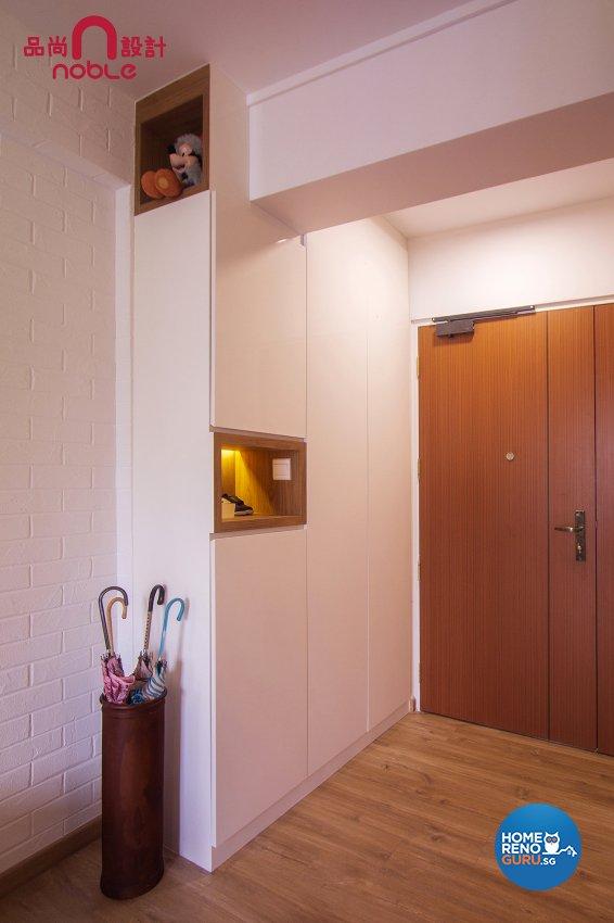 Scandinavian Design - Living Room - HDB 5 Room - Design by Noble Interior Design Pte Ltd