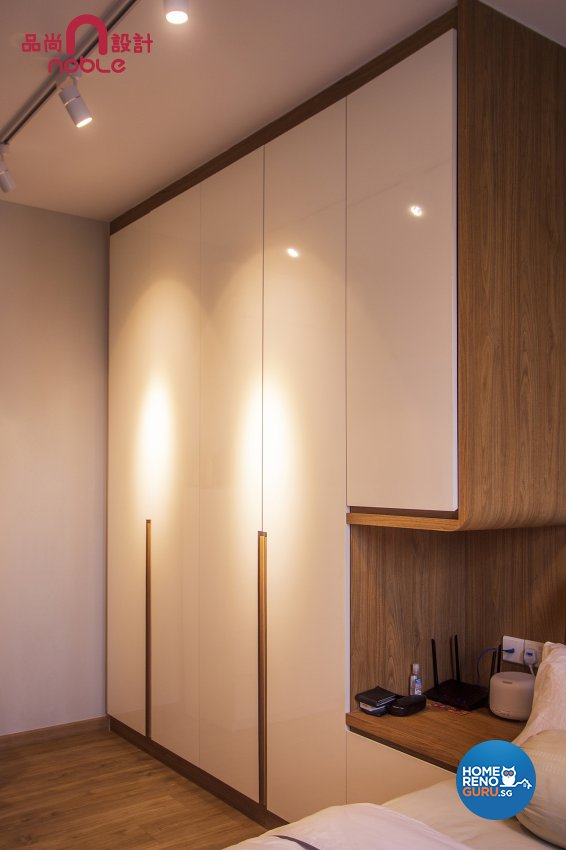 Scandinavian Design - Bedroom - HDB 5 Room - Design by Noble Interior Design Pte Ltd