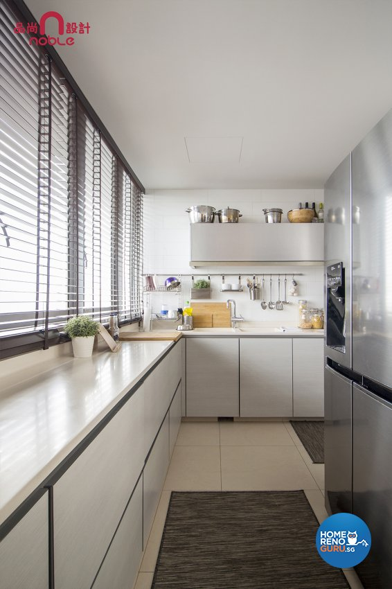 Modern Design - Kitchen - Condominium - Design by Noble Interior Design Pte Ltd