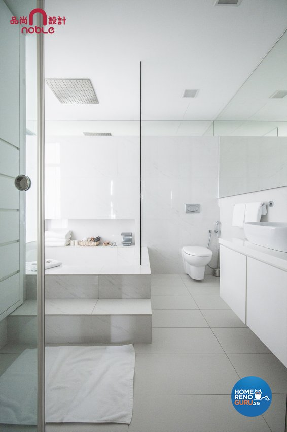 Modern Design - Bathroom - Condominium - Design by Noble Interior Design Pte Ltd
