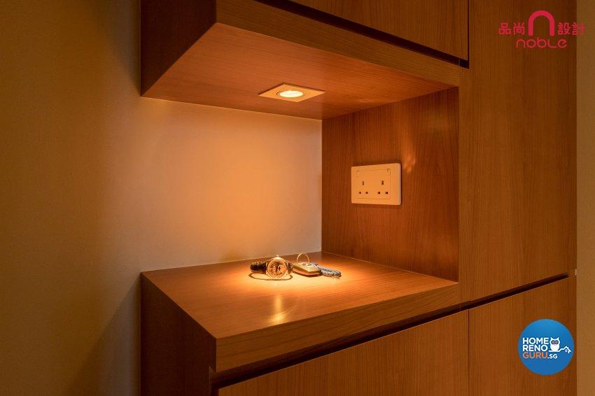 Modern, Oriental Design - Living Room - Condominium - Design by Noble Interior Design Pte Ltd