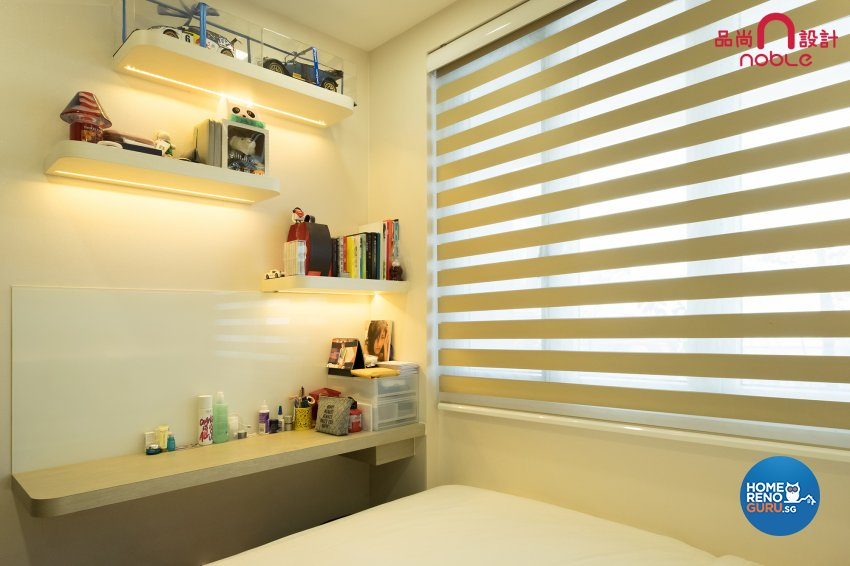 Modern, Oriental Design - Bedroom - Condominium - Design by Noble Interior Design Pte Ltd