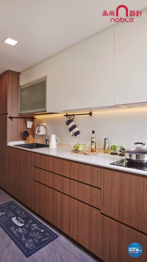 Contemporary, Modern Design - Kitchen - Condominium - Design by Noble Interior Design Pte Ltd