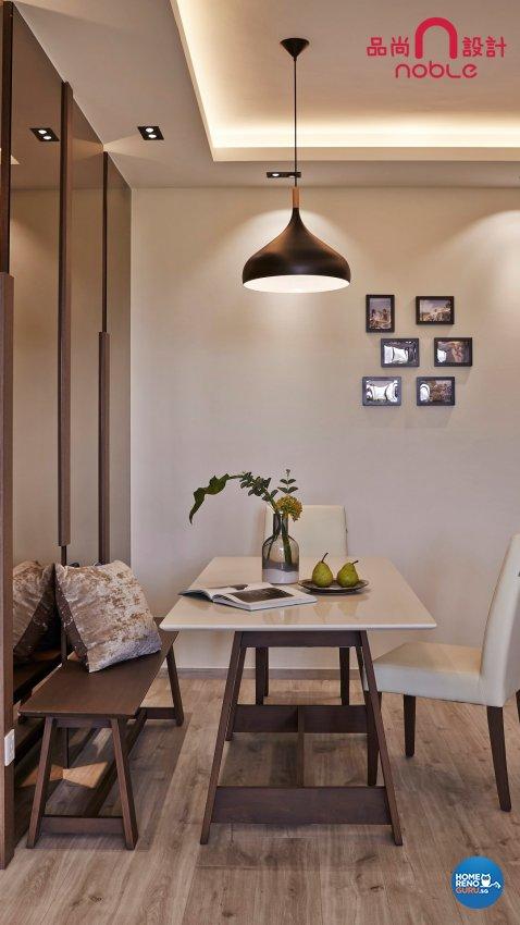 Contemporary, Modern Design - Dining Room - Condominium - Design by Noble Interior Design Pte Ltd