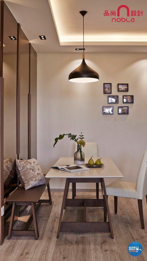 Contemporary, Modern Design - Dining Room - Condominium - Design by Noble Interior Design Pte Ltd