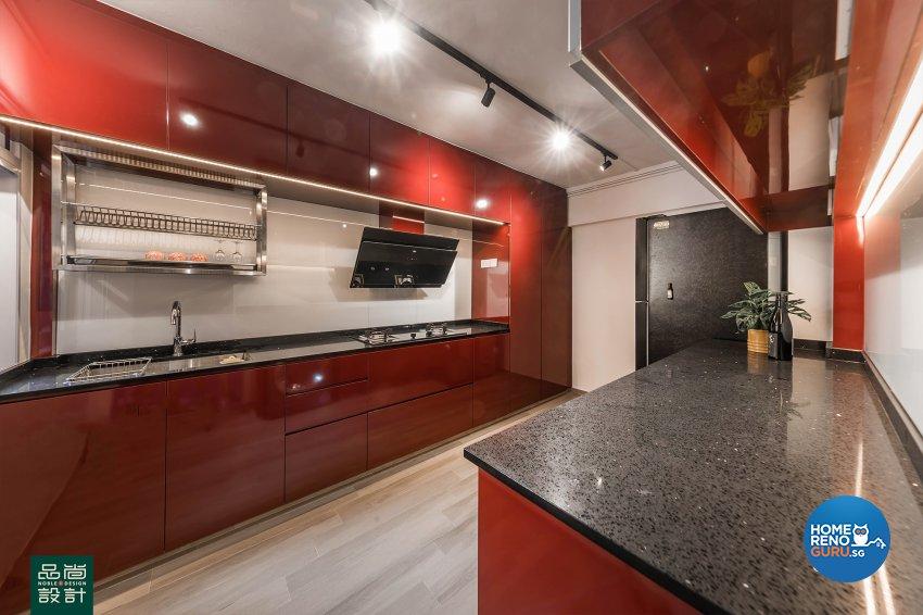 Modern, Others Design - Kitchen - HDB 5 Room - Design by Noble Interior Design Pte Ltd