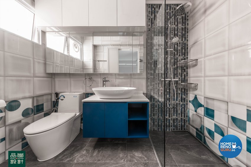 Modern, Others Design - Bathroom - HDB 5 Room - Design by Noble Interior Design Pte Ltd
