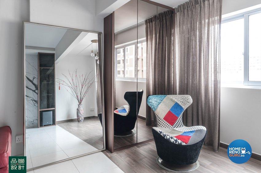 Modern, Others Design - Living Room - HDB 5 Room - Design by Noble Interior Design Pte Ltd