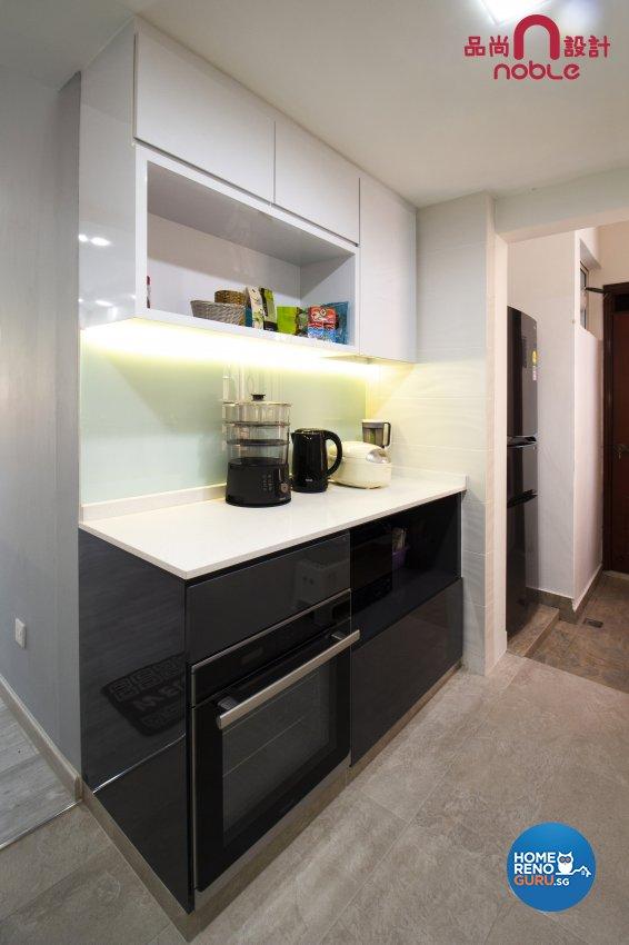 Contemporary, Modern Design - Kitchen - Condominium - Design by Noble Interior Design Pte Ltd
