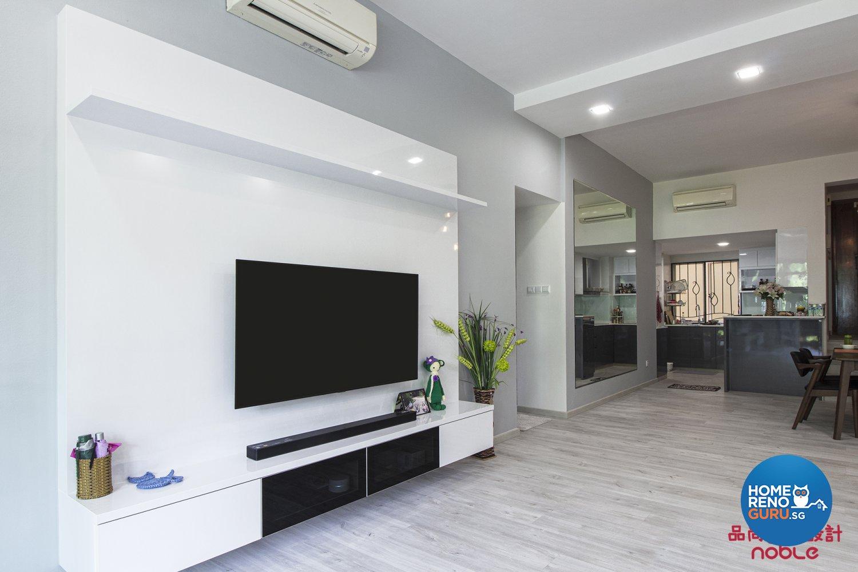Noble Interior Design Pte Ltd Seletar Springs 2 Bedroom Resale Condo 5305 Singapore Interior Design Gallery Homerenoguru