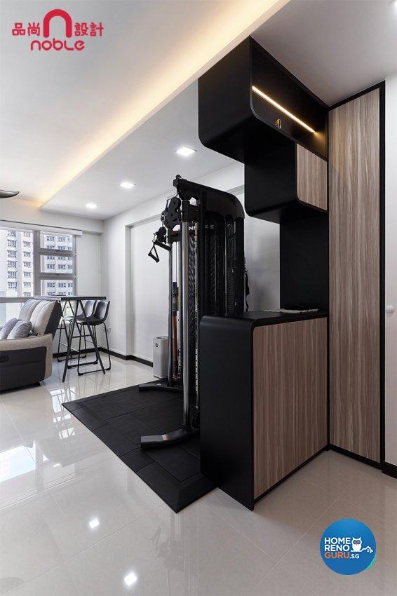 Modern Design - Living Room - HDB Studio Apartment - Design by Noble Interior Design Pte Ltd