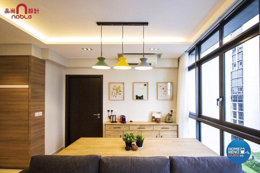 Contemporary, Others Design - Dining Room - Condominium - Design by Noble Interior Design Pte Ltd