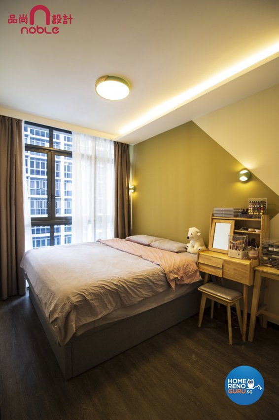 Contemporary, Others Design - Bedroom - Condominium - Design by Noble Interior Design Pte Ltd