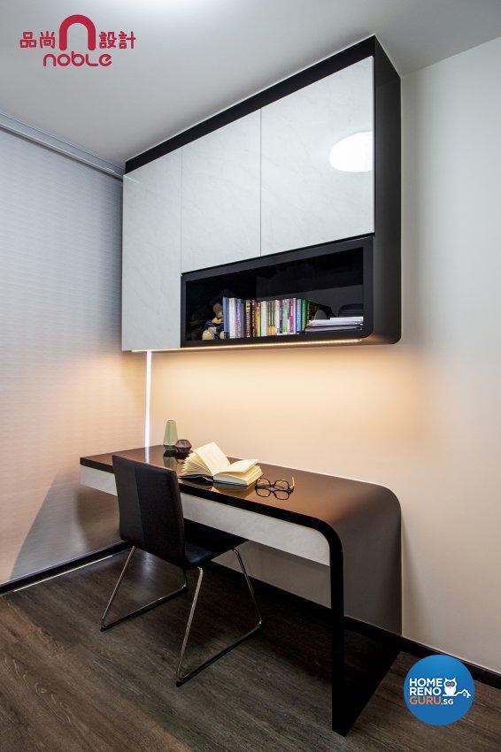 Contemporary, Modern Design - Study Room - Condominium - Design by Noble Interior Design Pte Ltd