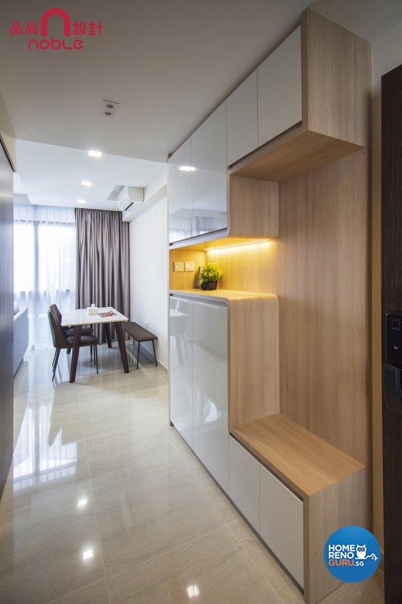 Scandinavian Design - Living Room - Condominium - Design by Noble Interior Design Pte Ltd