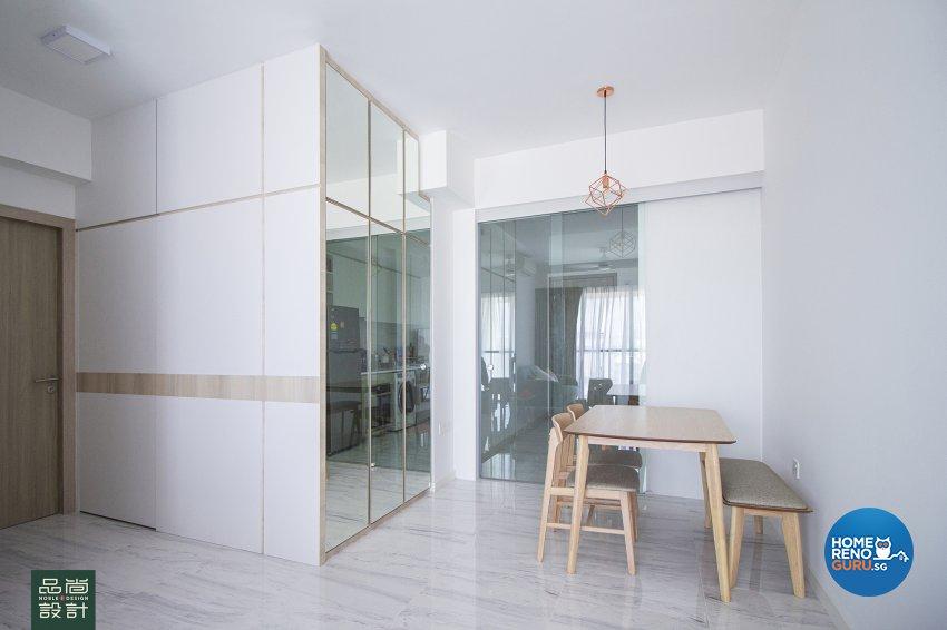 Modern Design - Dining Room - Condominium - Design by Noble Interior Design Pte Ltd