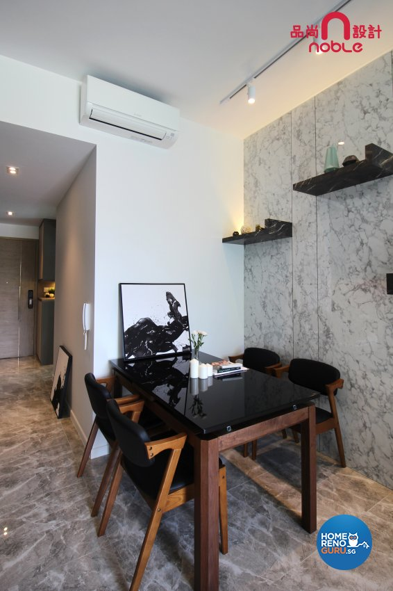 Modern Design - Dining Room - Condominium - Design by Noble Interior Design Pte Ltd