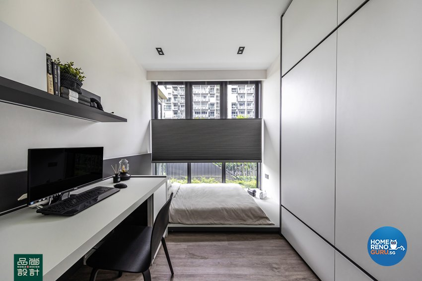 Modern Design - Bedroom - Condominium - Design by Noble Interior Design Pte Ltd