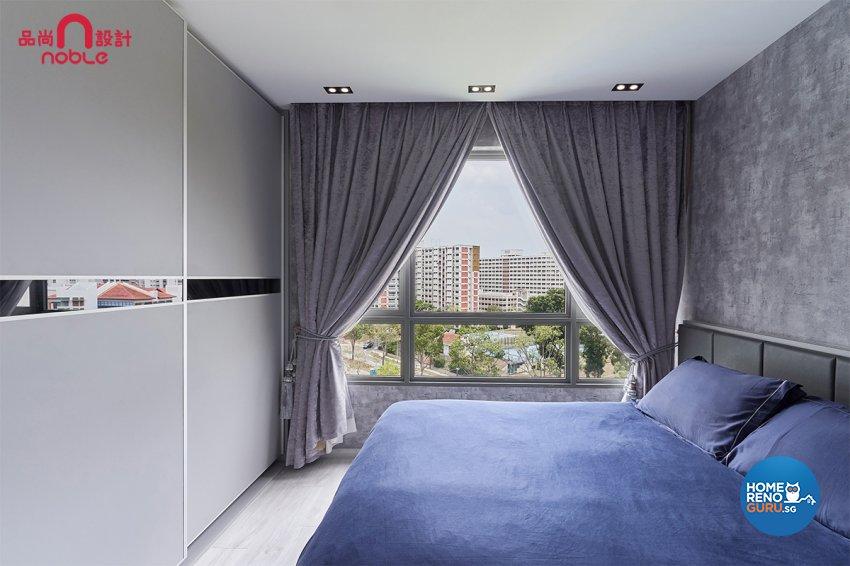 Contemporary, Modern Design - Bedroom - Condominium - Design by Noble Interior Design Pte Ltd