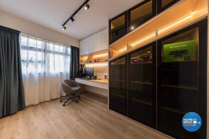 Modern, Scandinavian Design - Bedroom - HDB 5 Room - Design by Noble Interior Design Pte Ltd