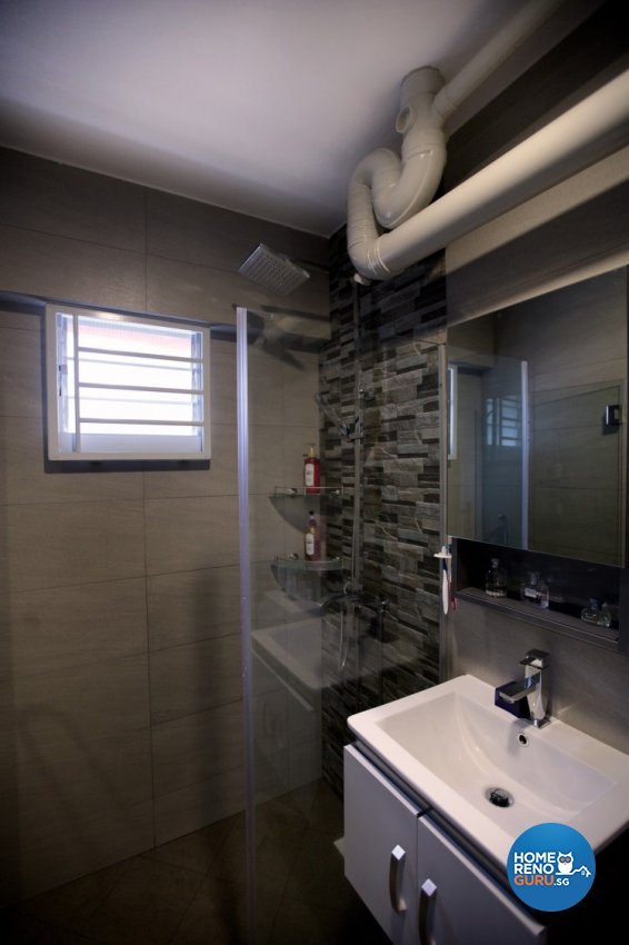 Contemporary, Modern Design - Bathroom - HDB 4 Room - Design by NorthWest Interior Design Pte Ltd