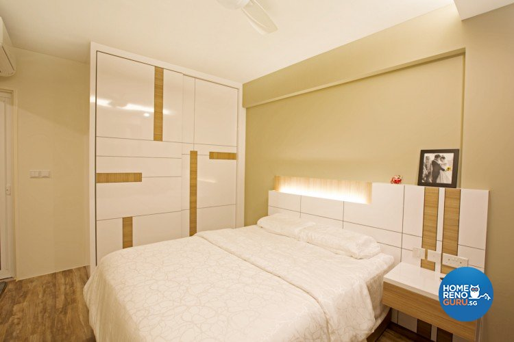 Contemporary, Minimalist Design - Bedroom - HDB 4 Room - Design by NorthWest Interior Design Pte Ltd