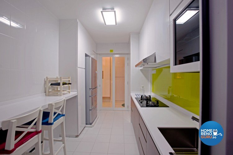 Contemporary, Minimalist Design - Kitchen - HDB 4 Room - Design by NorthWest Interior Design Pte Ltd
