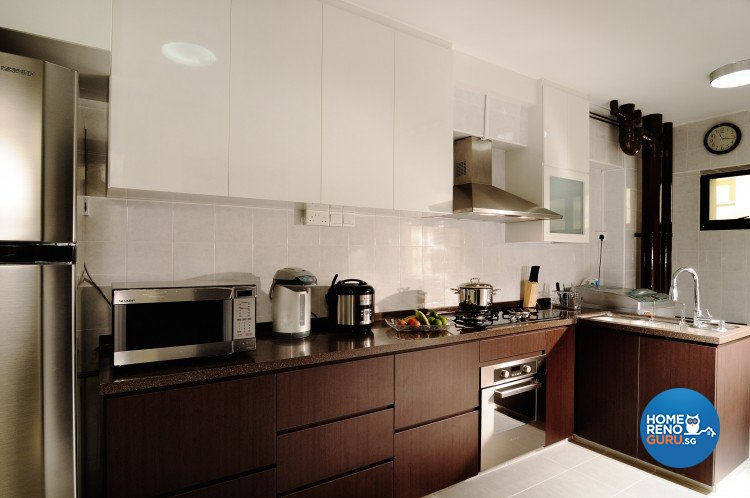 Contemporary, Modern Design - Kitchen - HDB 4 Room - Design by NorthWest Interior Design Pte Ltd