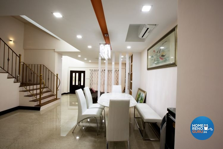 Contemporary, Minimalist Design - Dining Room - Landed House - Design by NorthWest Interior Design Pte Ltd