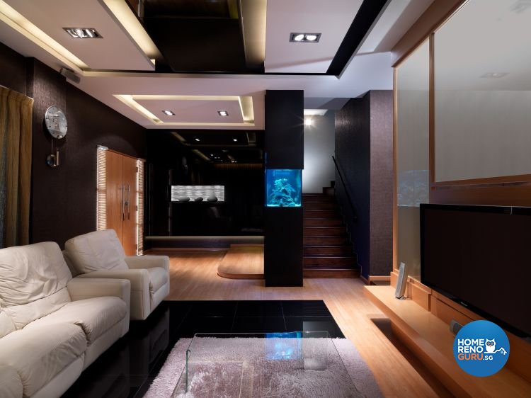 Contemporary, Retro Design - Living Room - Landed House - Design by NorthWest Interior Design Pte Ltd