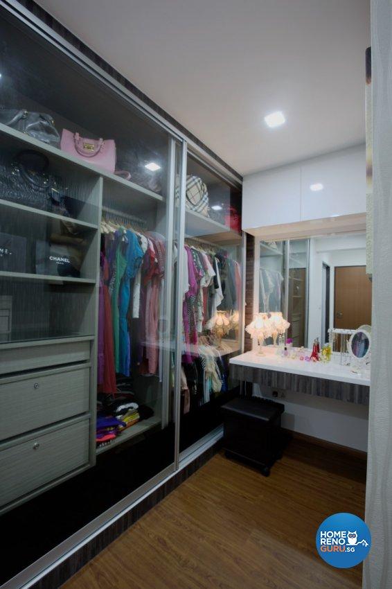 Classical, Modern Design - Bedroom - HDB 4 Room - Design by NorthWest Interior Design Pte Ltd