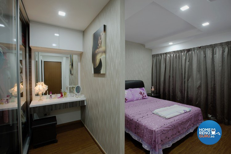 Classical, Modern Design - Bedroom - HDB 4 Room - Design by NorthWest Interior Design Pte Ltd