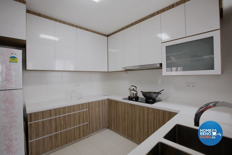 Classical, Modern Design - Kitchen - HDB 4 Room - Design by NorthWest Interior Design Pte Ltd