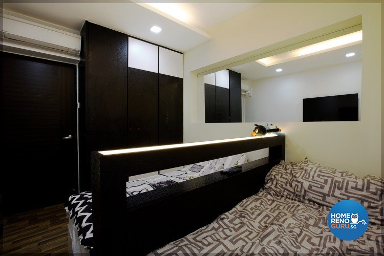 Contemporary, Modern Design - Bedroom - HDB 4 Room - Design by NorthWest Interior Design Pte Ltd
