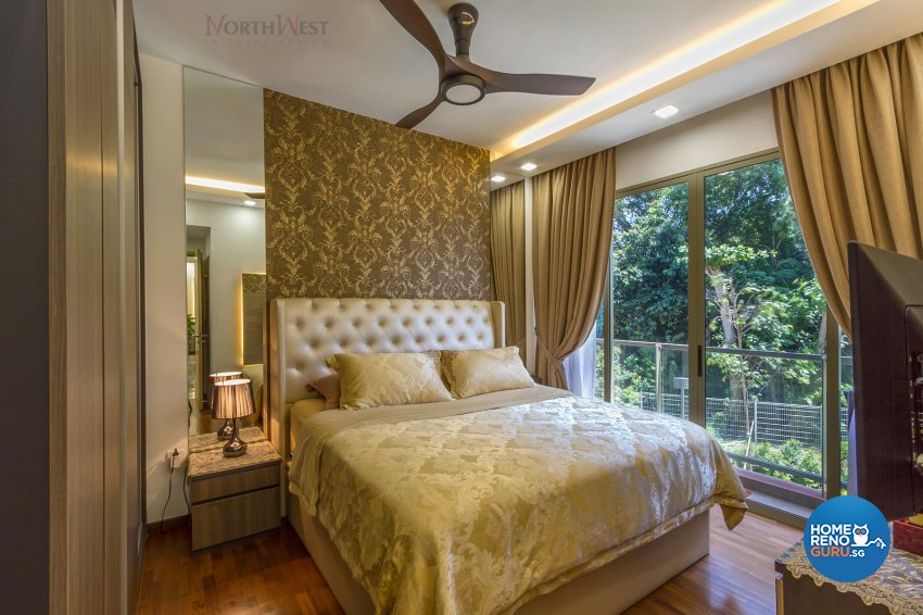 Contemporary, Eclectic Design - Bedroom - Condominium - Design by NorthWest Interior Design Pte Ltd
