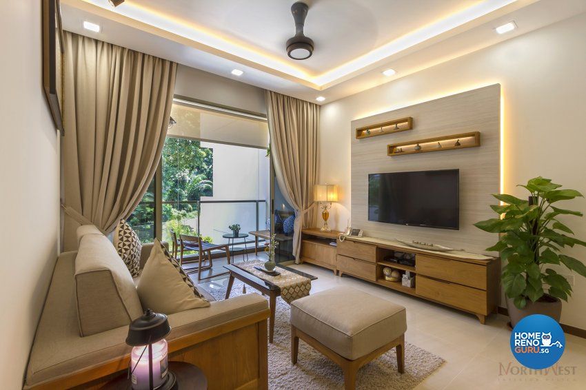 Contemporary, Eclectic Design - Living Room - Condominium - Design by NorthWest Interior Design Pte Ltd