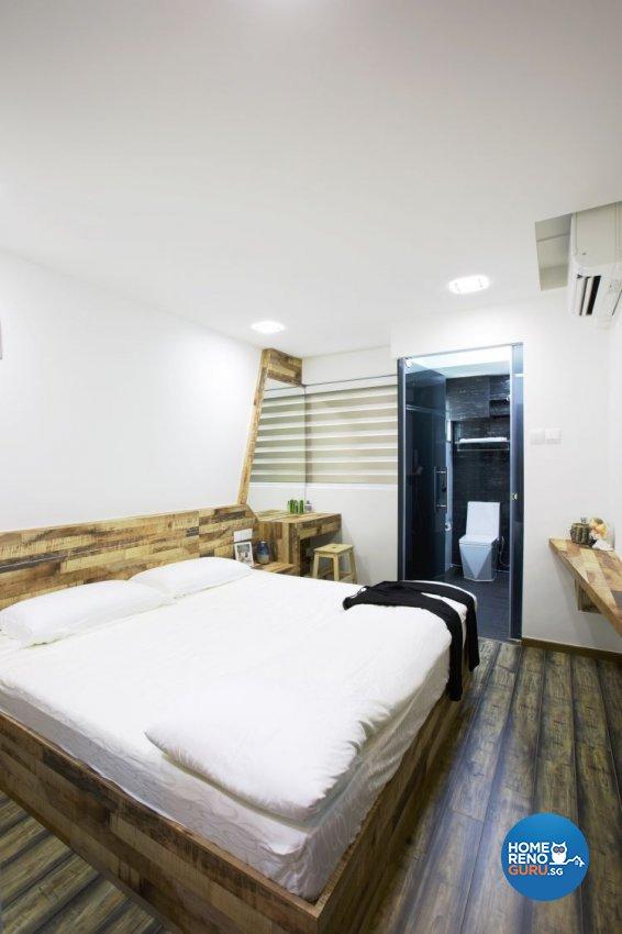 Contemporary, Minimalist Design - Bedroom - HDB 3 Room - Design by NorthWest Interior Design Pte Ltd