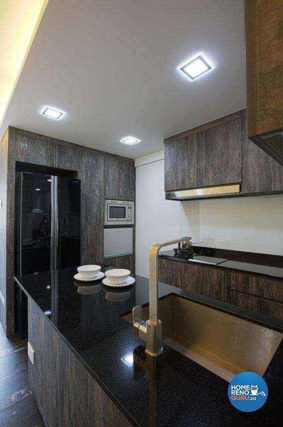 Contemporary, Minimalist Design - Kitchen - HDB 3 Room - Design by NorthWest Interior Design Pte Ltd