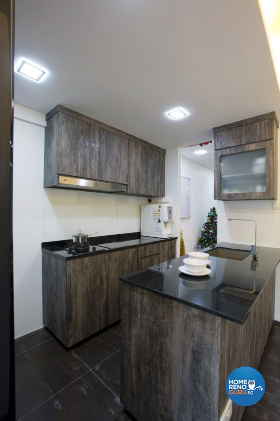 Contemporary, Minimalist Design - Kitchen - HDB 3 Room - Design by NorthWest Interior Design Pte Ltd