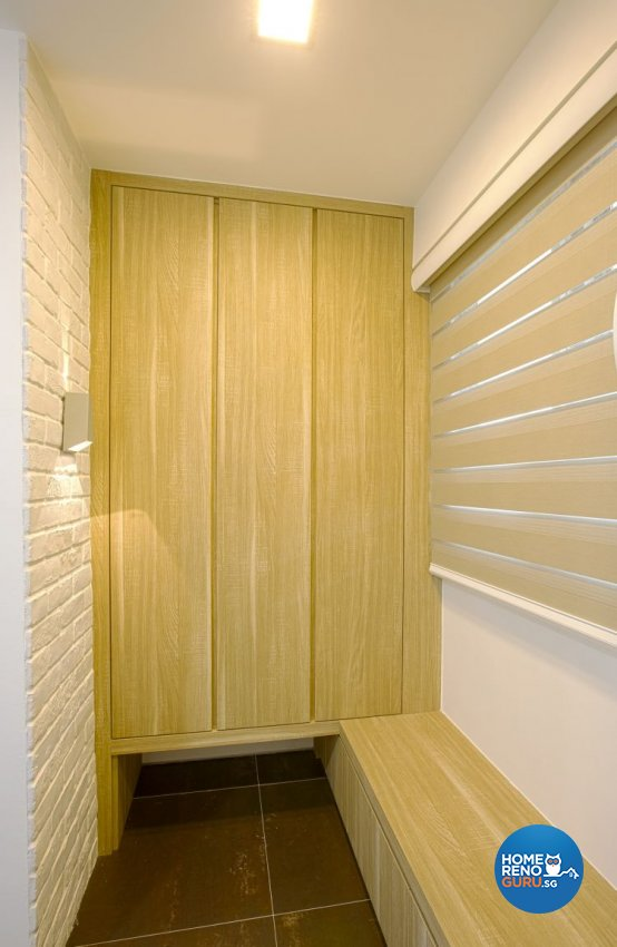 Contemporary, Minimalist Design - Balcony - HDB 3 Room - Design by NorthWest Interior Design Pte Ltd